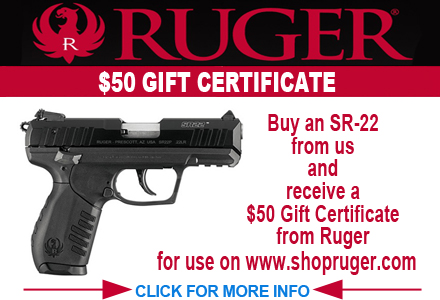 Ruger FREE Ammo Promotion